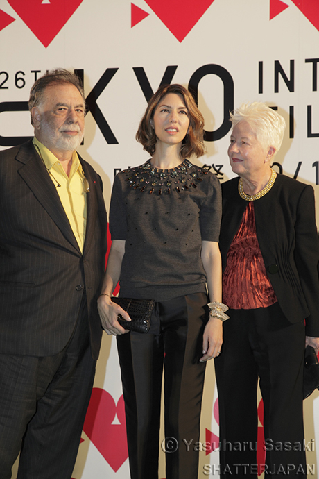Francis Ford Coppola, Sofia Coppola, Eleanor Coppola